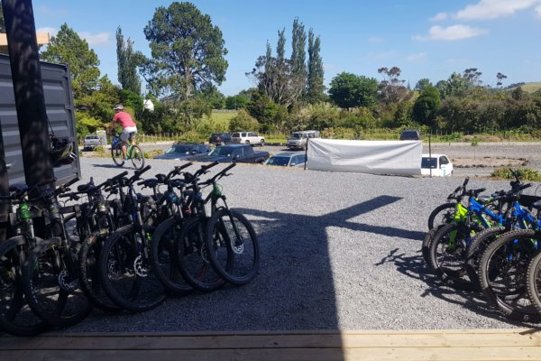 23. Paihia mountain bikes - outwards