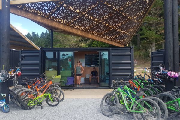 24. Paihia mountain bikes - shop shot